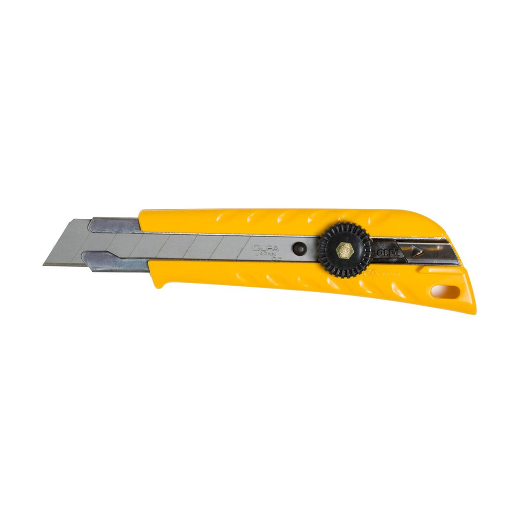 Utility Knife - OLFA 18mm Pistol Grip Ratchet-Lock,  Replacement Blades* - Hansler.com