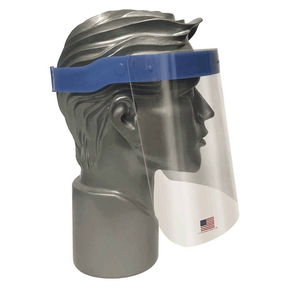 Face Shield - Jackson Reusable Splash Protection 14350 - Hansler.com