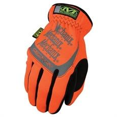 Glove - Work - Mechanix Wear Safety FastFit High Viz Orange* - Hansler.com