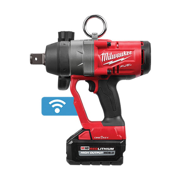 "Impact Wrench Kit - Milwaukee M18 FUEL™ 1"" High Torque w/ ONE-KEY™ 2867-22 - Hansler.com"