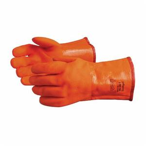 Glove - Chemical Resistant - Superior Glove North Sea Premium PVC Rough Grip Triple Foam Lining Safety Cuff NS300B - Hansler.com