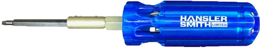 Screwdriver - Hansler Smith Multi-Bit Picquic - Hansler.com