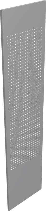 Shelving - Metalware Interlok Perforated Decorative End Panel - Hansler.com