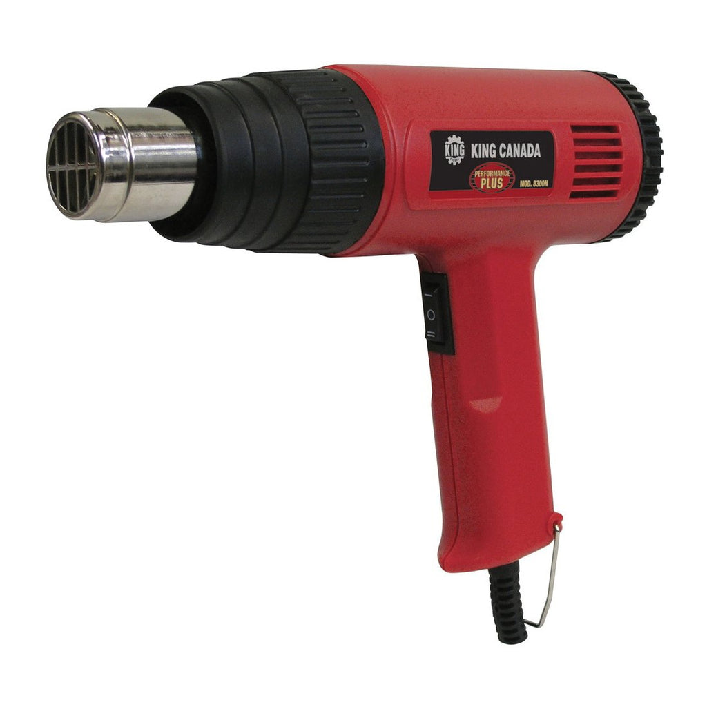 Heat Gun Kit - King Canada Performance Plus 8300N - Hansler.com