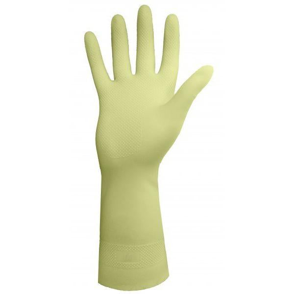 Glove - Chemical Resistant - Ronco Unlined Canners Thick Latex Natural Rubber 125 - Hansler.com