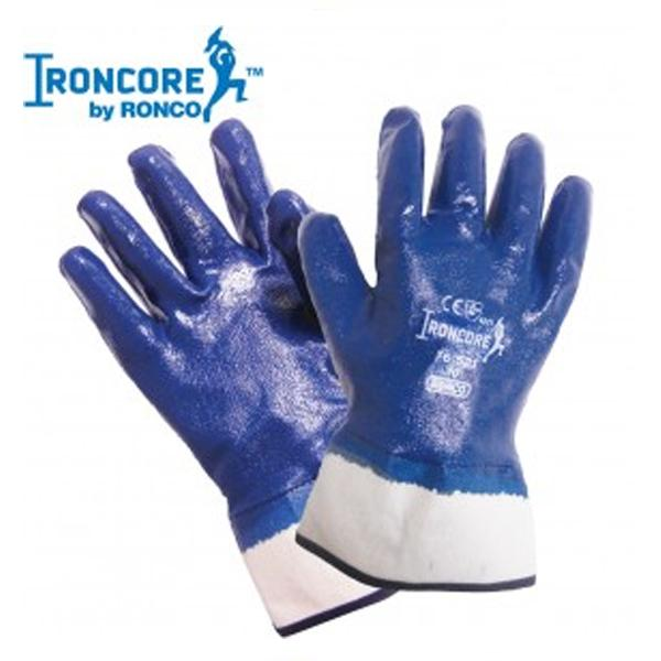 Glove - Chemical Resistant - Ronco Ironcore Nitrile Coated 76-521-10 - Hansler.com