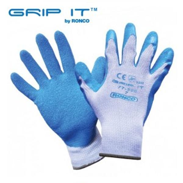 Glove - General Purpose - Ronco GRIP-IT Latex Coated 77-500 - Hansler.com