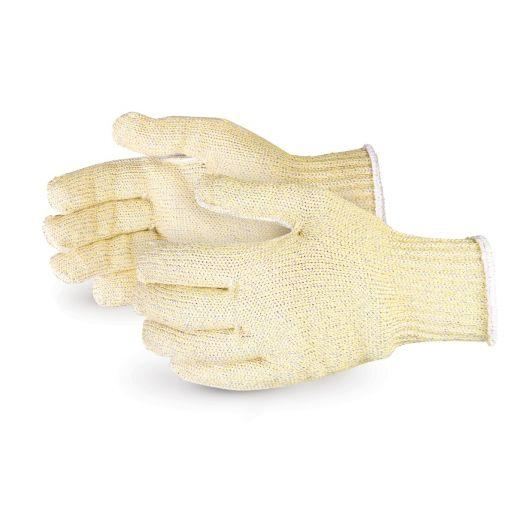 Glove - Cut Resistant - Superior Glove Heavy String Kevlar Triple Stain/Polyester/Steel SCXH - Hansler.com