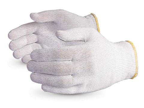 Glove - Electrostatic Dissipative - Superior Glove Featherweight, Anti-Static Filament Nylon Touchscreen STNCF - Hansler.com