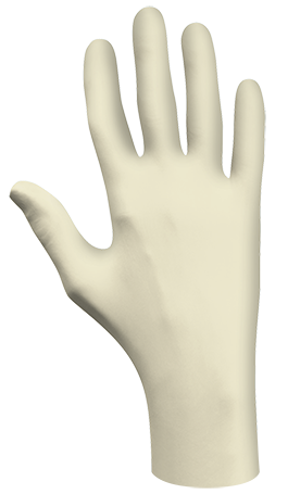 Glove - Disposable - Showa 5005PF Natural Rubber Latex Medical Glove, Powder-Free - Hansler.com
