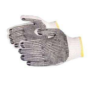 Glove - General Purpose - Superior Glove Sure Grip 2-Sided PVC Dots Coating 7 ga Cotton/Polyester SQ2D - Hansler.com