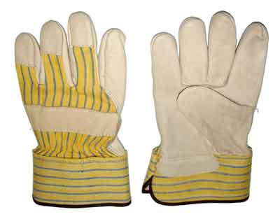 Glove - Work - Tuff Grade 401 Leather Fitters TGG-401 - Hansler.com