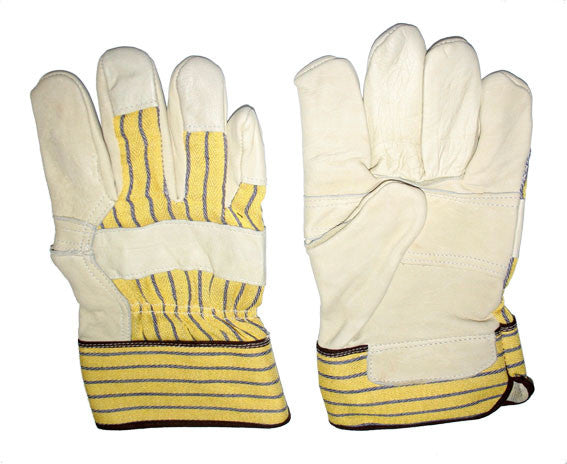 Glove - Work - Tuff Grade Grain Leather Fitter, Patch Palm* - Hansler.com