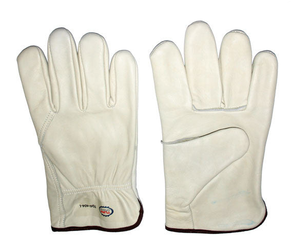 Glove - Work - Tuff Grade Leather Driver Lined Wing Thumb* - Hansler.com