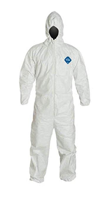 Coveralls - DuPont Tyvek 400 Hooded White Vending Pack TY127SVP - Hansler.com