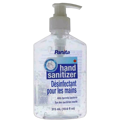 Hand Sanitizer - Panita Clear Gel 73% Ethyl Alcohol 315 mL or 100 mL - Hansler.com