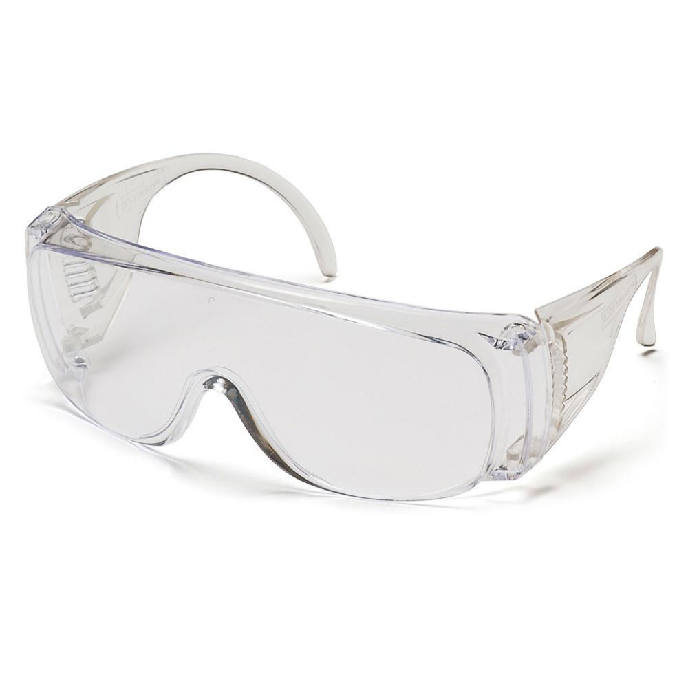 Protective Glasses - Pyramex Visitor Solo Over-the-Glass Glasses S510S - Hansler.com
