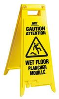 *Wet Floor Sign - M2 Professional (English & French) - Hansler.com