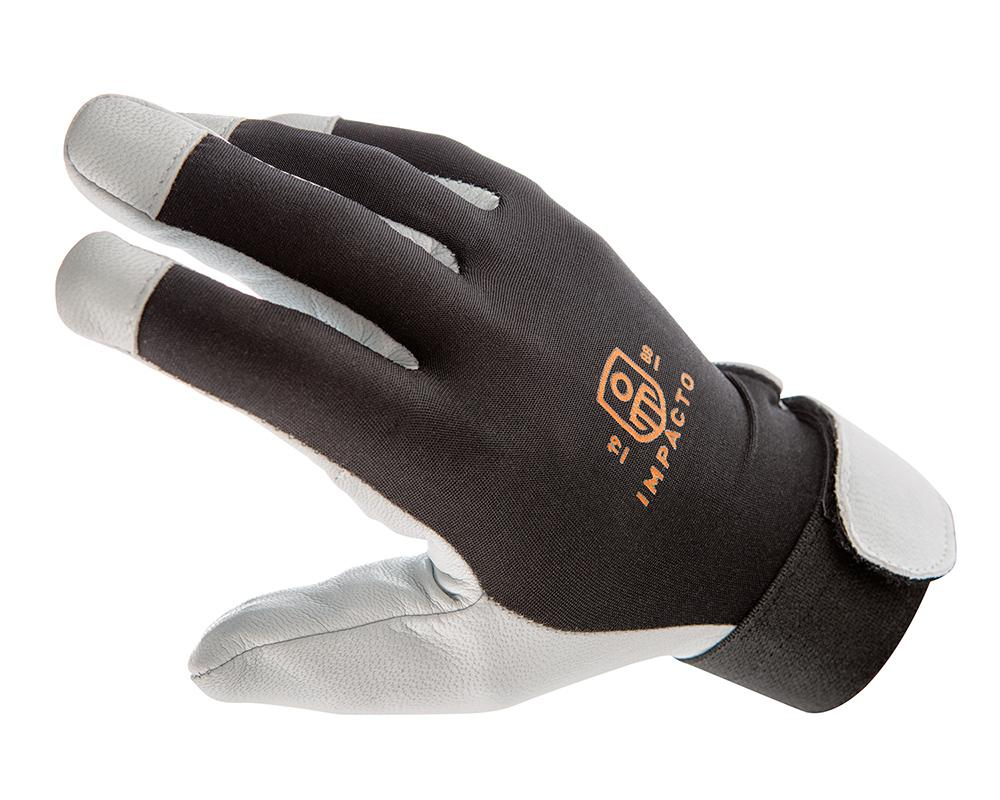 Glove - Anti-Vibration - Impacto Air Glove Pearl Leather - Hansler.com