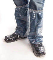 Boot Cover - Superior Glove KeepKleen Single-Use Slip-On Water-Resistant 18 in Elastic Top BOOTPD18 - Hansler.com