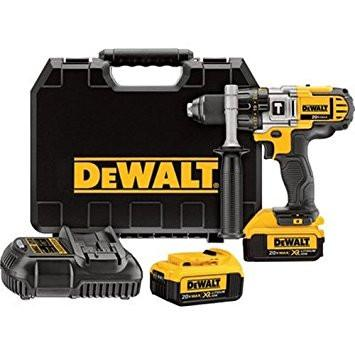 Hammerdrill Kit - Dewalt 20V MAX* LITHIUM ION PREMIUM 3-SPEED (4.0) - Hansler.com
