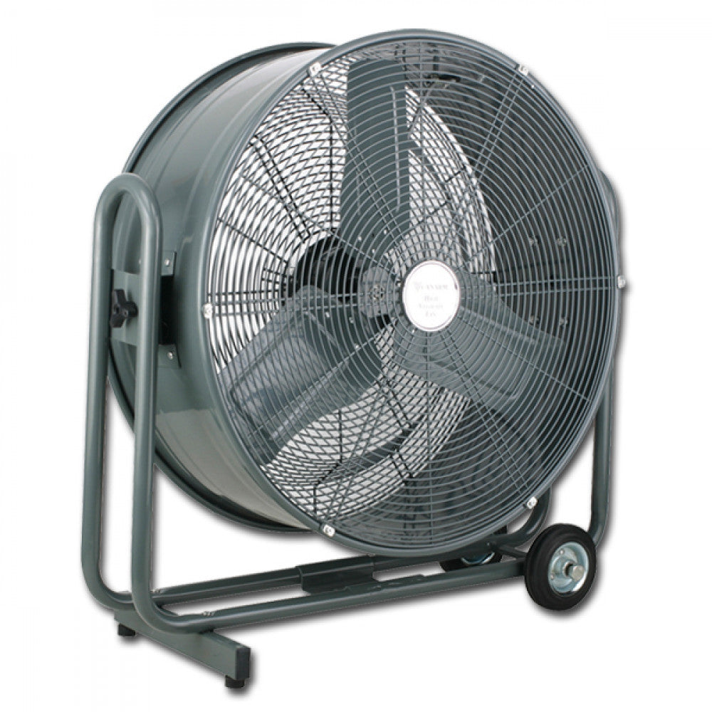 "Fan - Canarm Round Portable Drum 24"" or 36"" HVR - Hansler.com"