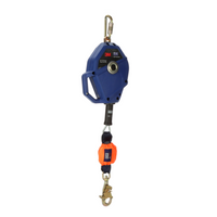 FALL ARREST LIFELINE 3M™ DBI-SALA® Smart Lock Leading Edge Self-Retracting Lifeline - Galv 20 ft. - Hansler.com