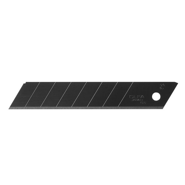 Utility Knife Blades - OLFA 18mm Heavy-Duty Ultra-Sharp Black Snap-Off Replacement 9070 - Hansler.com