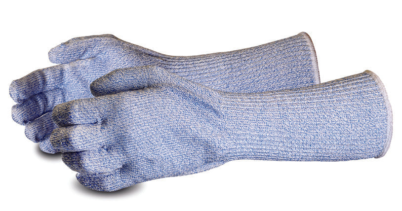 "Glove - Cut Resistant - Superior Glove Food Industry 6"" Long Cuff S10SXB6 - Hansler.com"