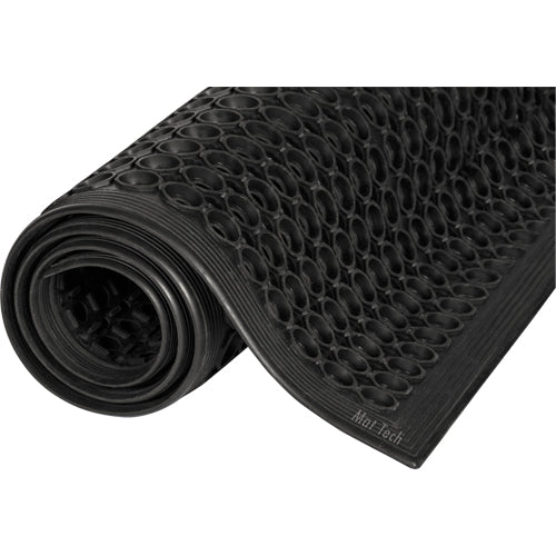 MAT Safewalk™ Light Mat MAT TECH #645 BLACK GENERAL PURPOSE MATTING - Hansler.com