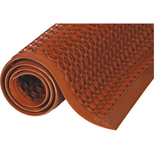 MAT Safewalk™ Light Mat #646 GREASE RESISTANT TERRA COTTA MAT TECH MATTING - Hansler.com