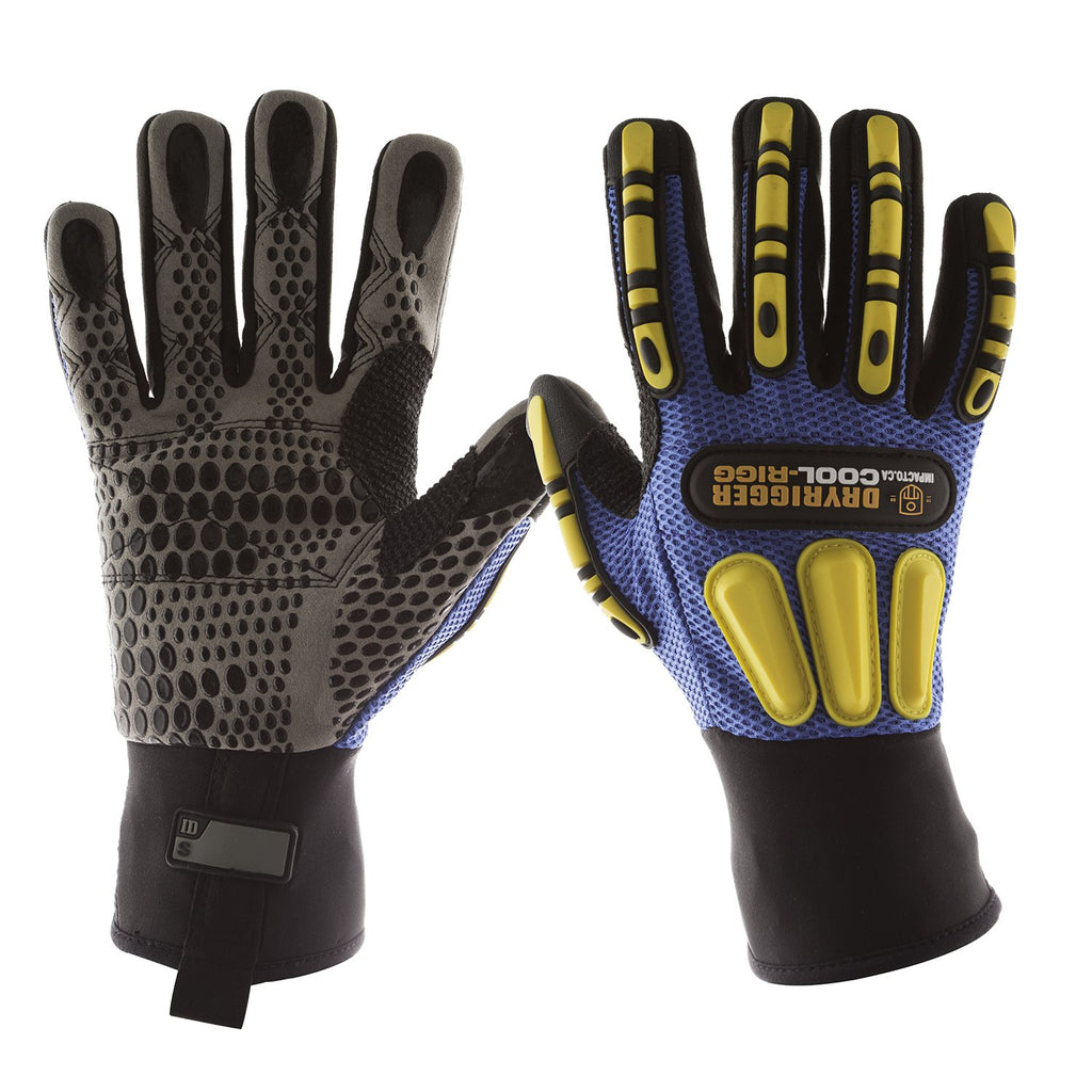Glove - Specialty - Impacto Dryrigger CoolRigger Oil and Water Resistant - Hansler.com