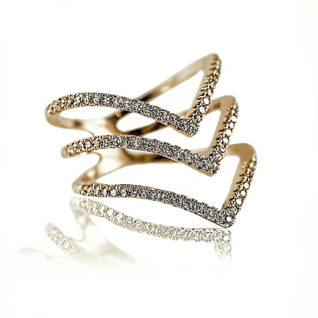 AB1008 - Gioia Modern Yellow Gold Ring Design