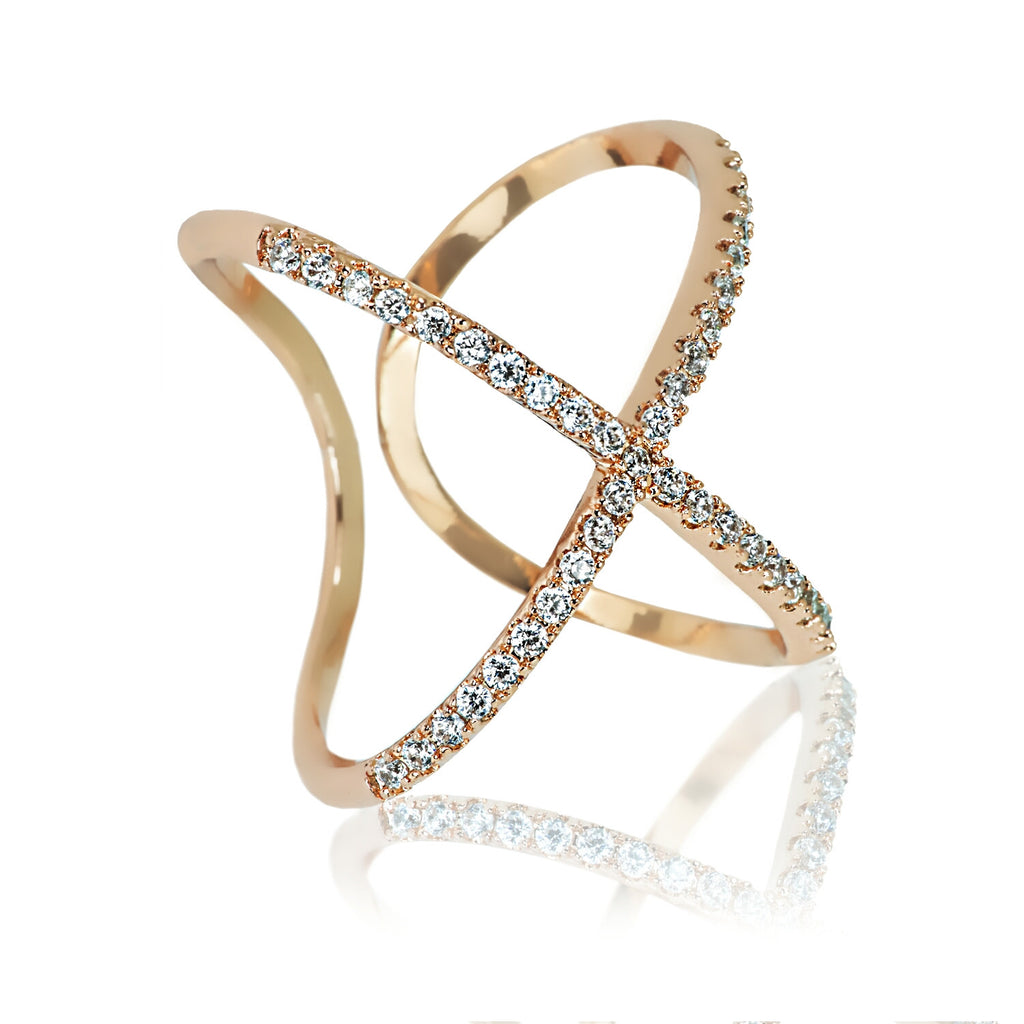 Libe Gold Plated Ring – Aurum Mod