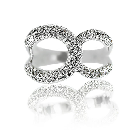 AB1024 - Drukkie Modern White Gold Ring Design