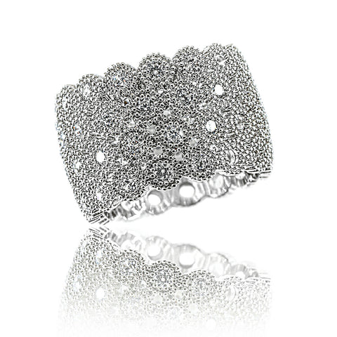 AB1032 - Teplo Modern Jewelry Design White Gold Ring