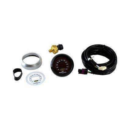 AEM Oil Pressure Gauge Digital 0-150psi 52mm - Draven Performance