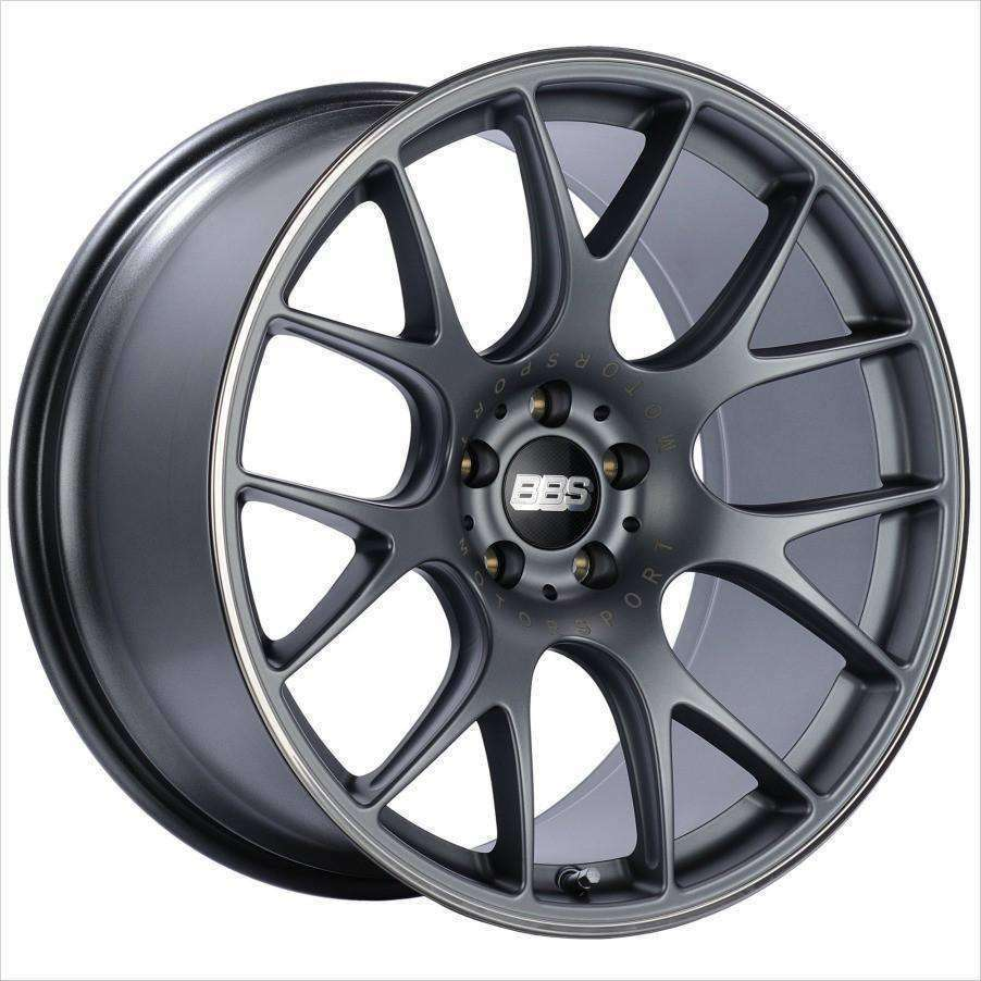 BBS CH-R 19x8.5 5x130 51mm Satin Titanium - Draven Performance