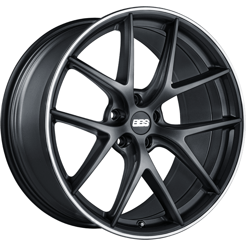 BBS CI-R 20x9.5 5x114.3 40mm Satin Black - Draven Performance