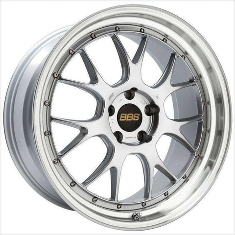 BBS LM-R 20x11 5x114.3 20mm CB66 Diamond Silver