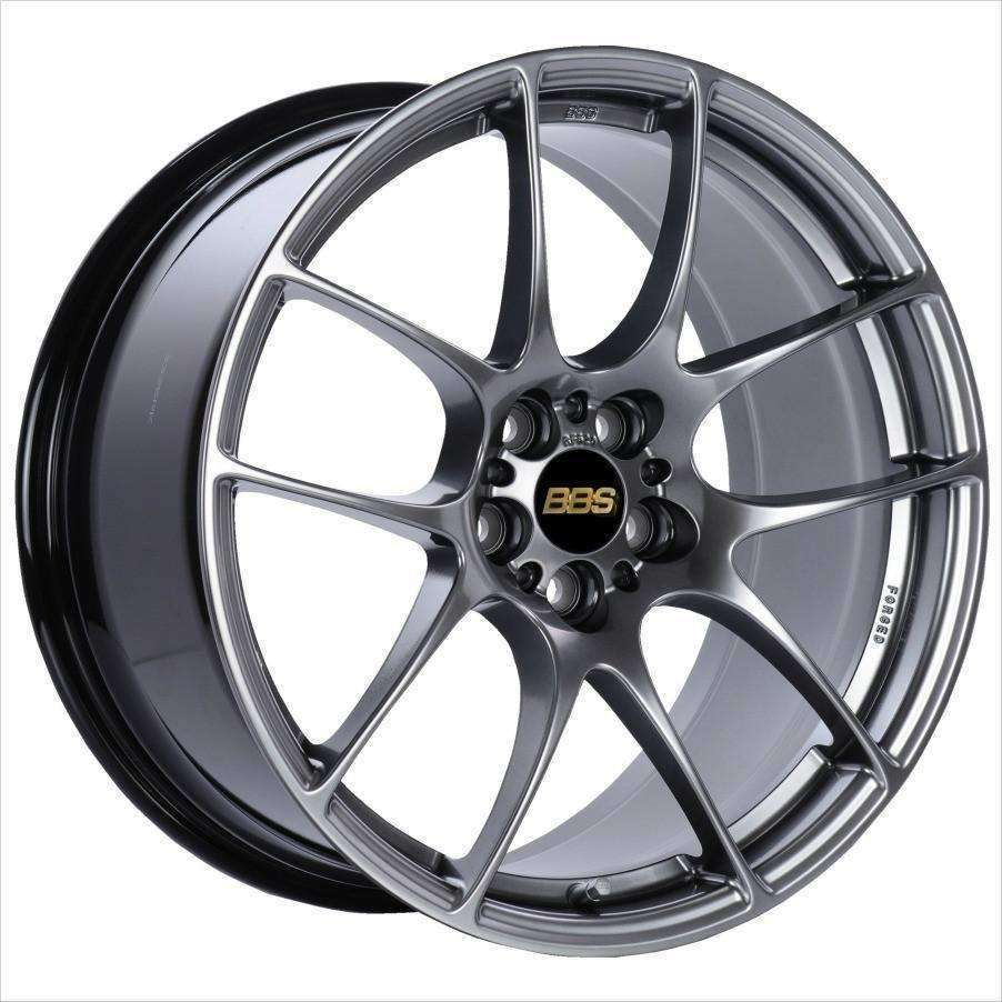 BBS RF 18x8 5x100 45mm Diamond Black - Draven Performance