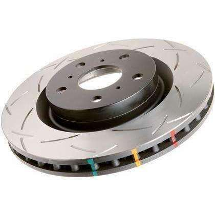 DBA 4000 Series Rear Slotted 4000 Series Rotor Pair - Mitsubishi Evolution X