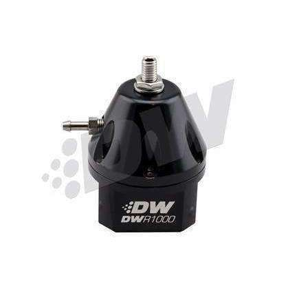 DeatschWerks DWR1000 Adjustable Fuel Pressure Regulator - Black