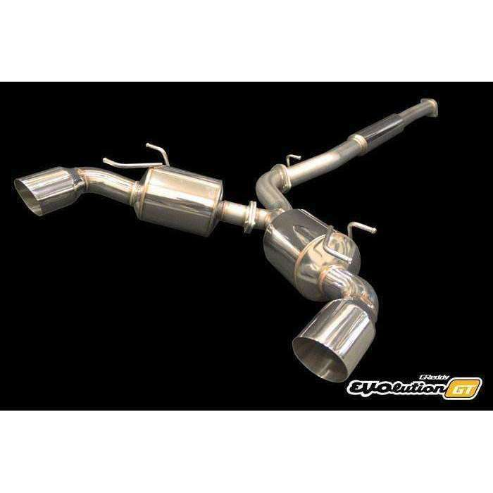 Greddy Evolution GT Catback Exhaust - 2013+ Subaru BRZ | FRS - Draven Performance