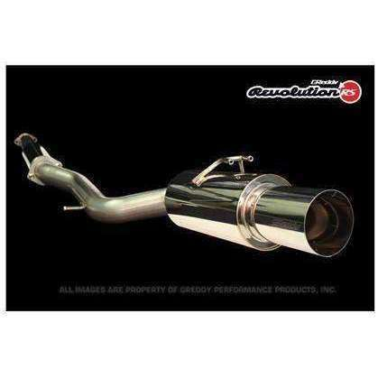 Greddy Revolution RS Cat-Back Exhaust - Mitsubishi Evolution X - Draven Performance