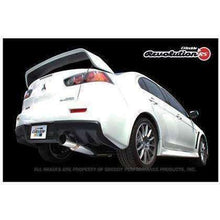 Load image into Gallery viewer, Greddy Revolution RS Cat-Back Exhaust - Mitsubishi Evolution X - Draven Performance