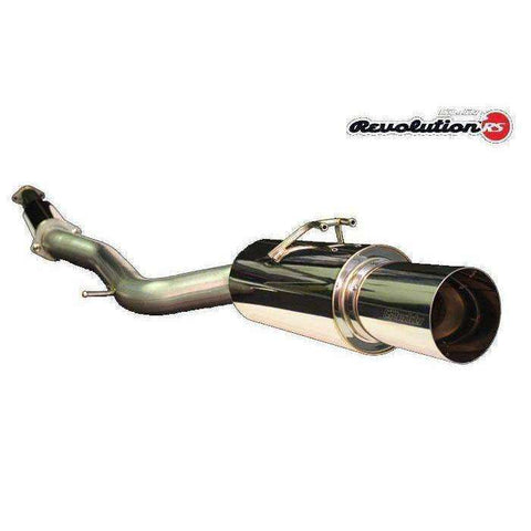Greddy Revolution RS Single Exhaust -  2011-2014 Subaru STI Sedan - Draven Performance