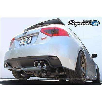 GReddy Supreme SP Cat Back Exhaust -  2008-2014 Subaru STI Hatchback - Draven Performance