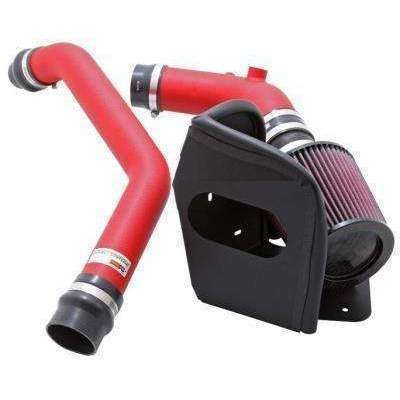 K&N 69 Series Typhoon Intake Kit Wrinkle Red - Mitsubishi Evolution X - Draven Performance