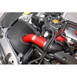 K&N Red Typhoon Short Ram Intake - 2015+ Subaru STI